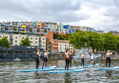SUP Bristol - Stand Up Paddleboarding